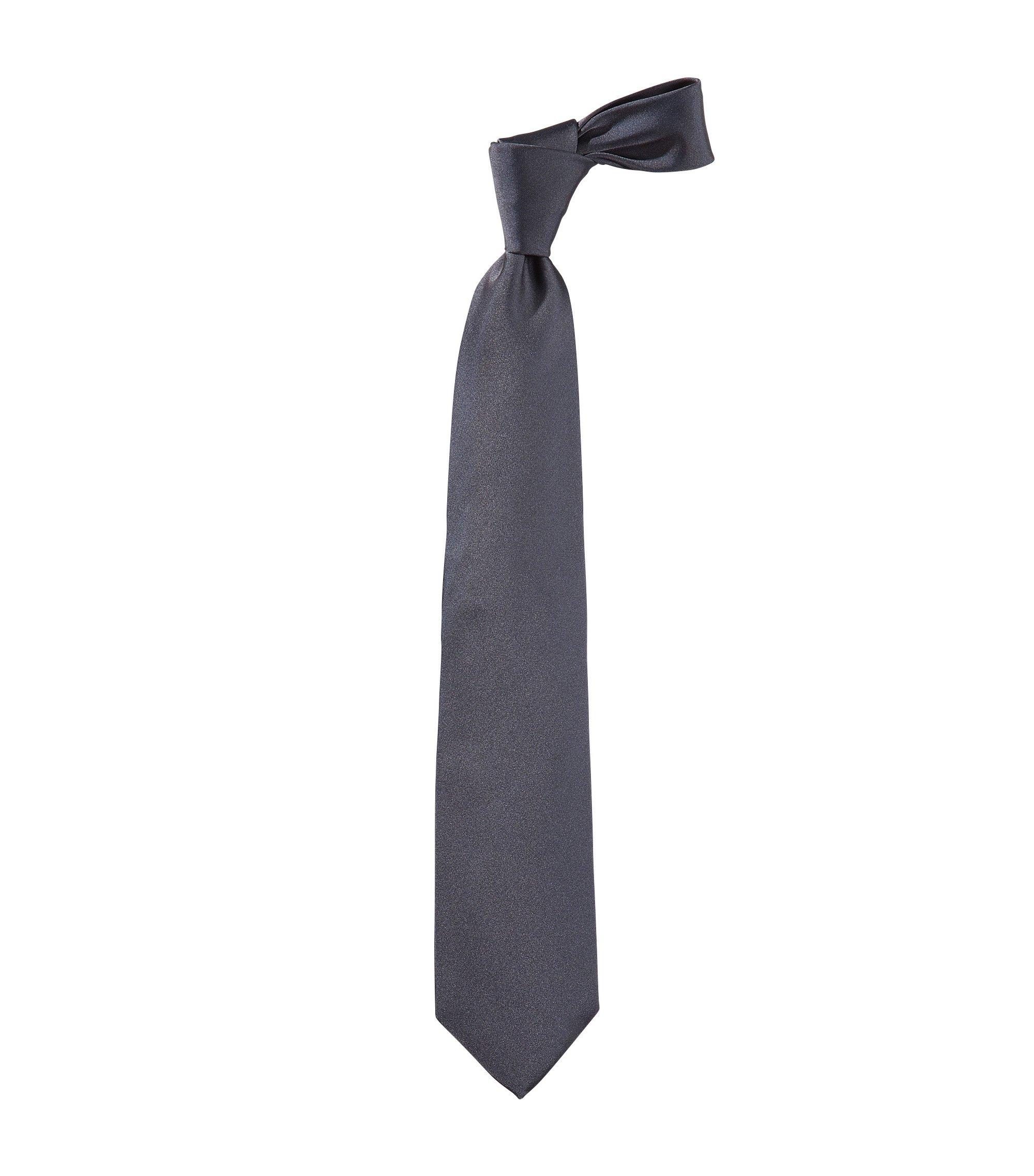 Cravate «Tie 7,5 cm» en soie, Gris