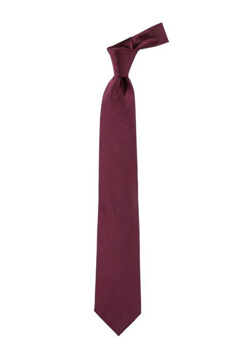 'Tie 7.5 cm' silk tie, Dark Purple