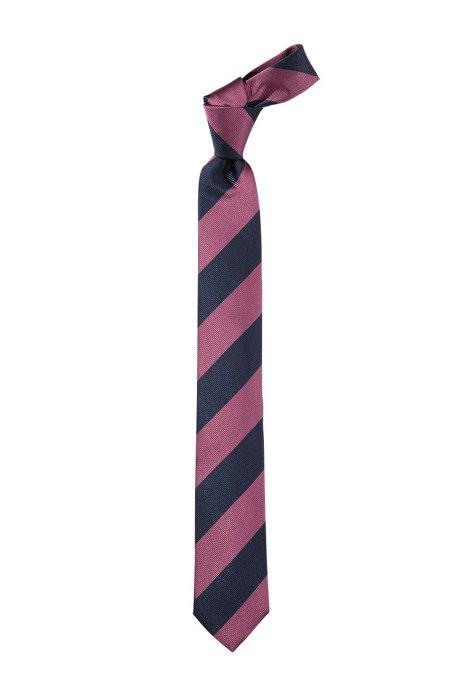 Pure silk tie 'Tie 6 cm', Pink
