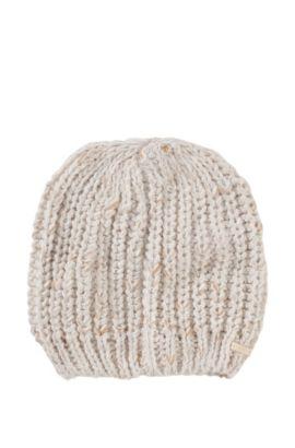 Mütze ´Women-X 395` mit meliertem Dessin, Gemustert