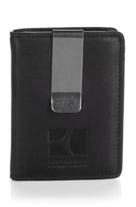 Kartenhalter ´Nafrio` mit Geldscheinclip, Schwarz