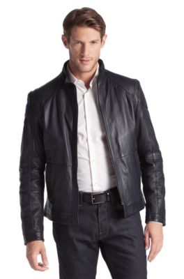 e348369a65b Leather jackets for men by HUGO BOSS