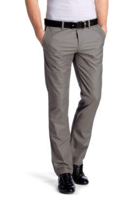 Pantalon chino Regular Straight Fit, Crigan1-3-W, Gris chiné