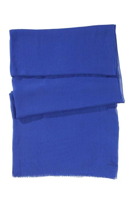 Modal scarf 'Women-Z 394', Blue