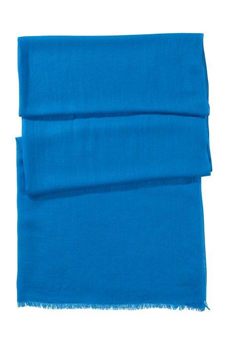 Modal scarf 'Women-Z 394', Turquoise