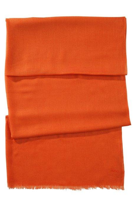 Modal scarf 'Women-Z 394', Orange