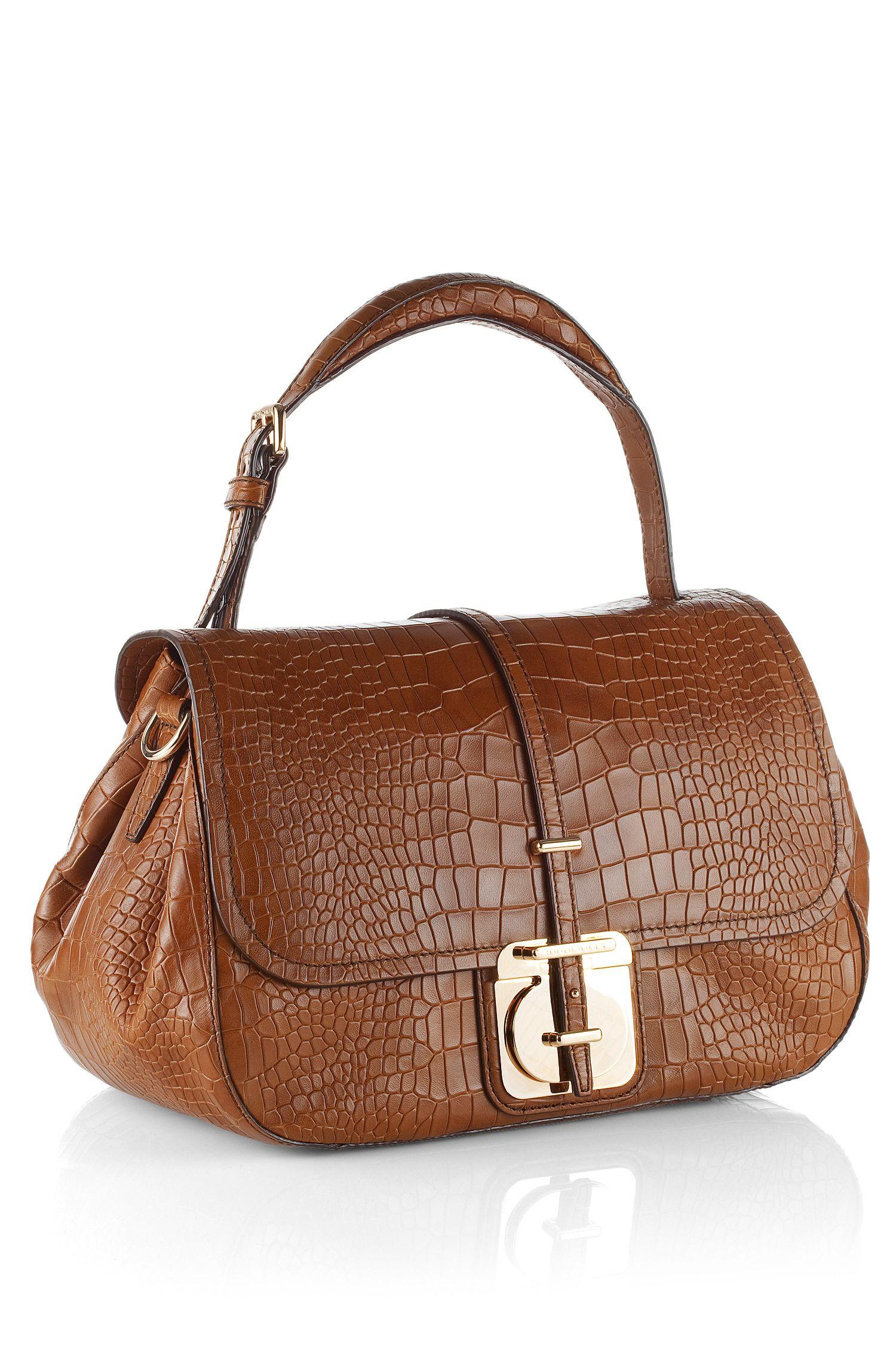 Handtasche ´Calanthia-C` aus Kalbsleder