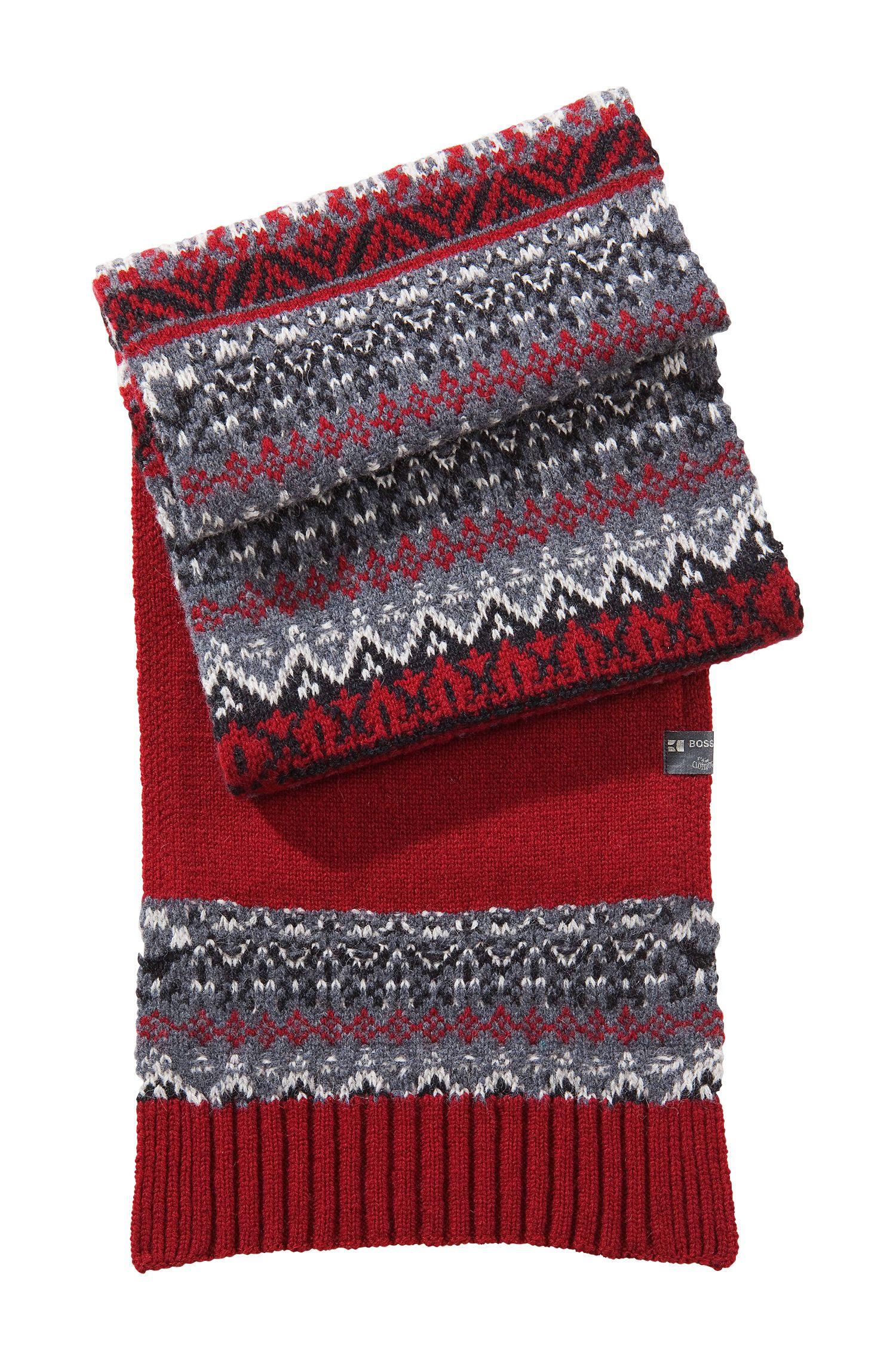 Écharpe norvégienne en laine mélangée, Abbo