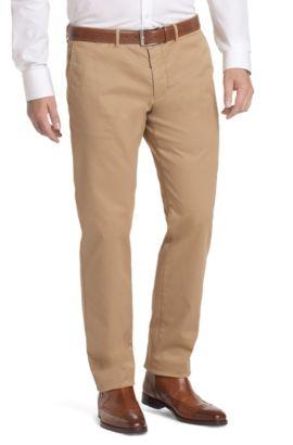 Regular fit trousers 'Crignan2-D', Beige