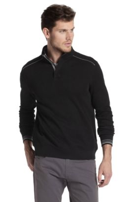 Pull-over Regular Fit, Piceno 21, Noir