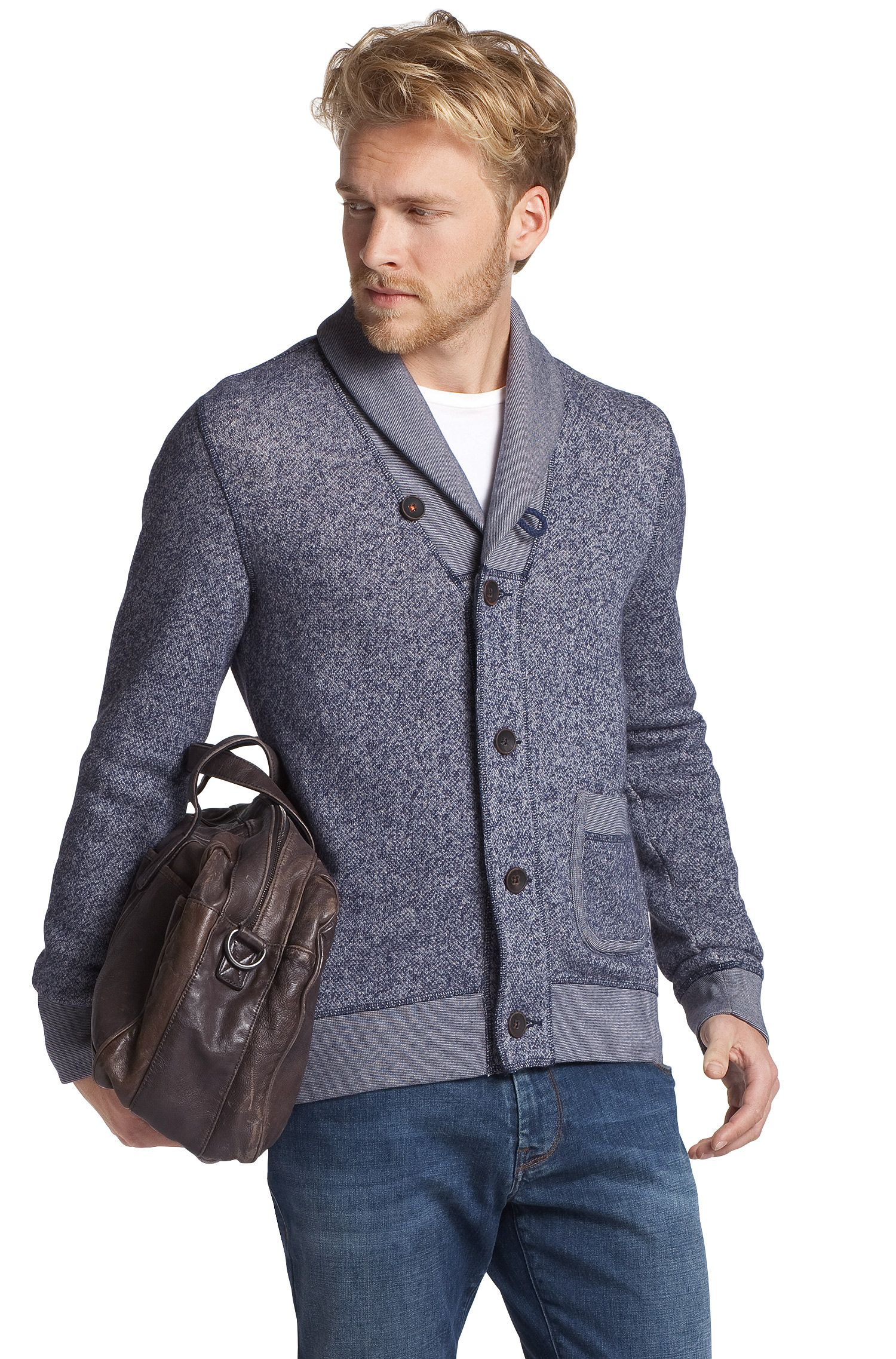 Cardigan ´Wealthy` mit Schalkragen