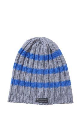 Mütze ´Fredemar` aus Woll-Mix, Hellgrau