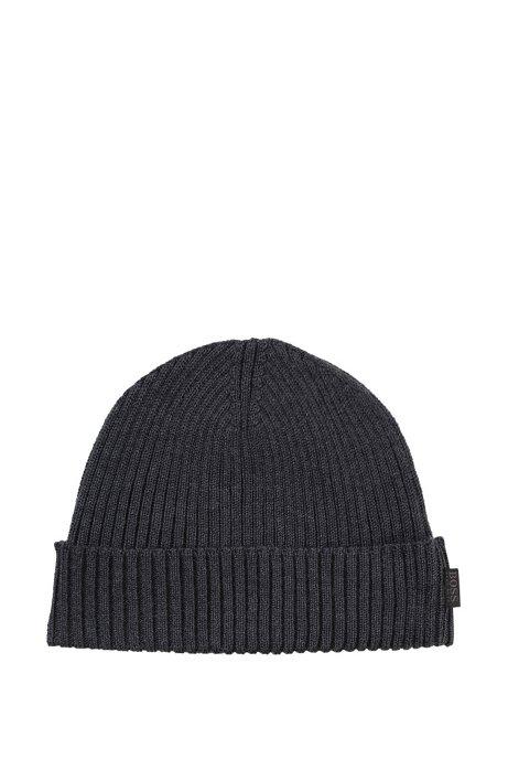 Round hat 'Nattea', Grey