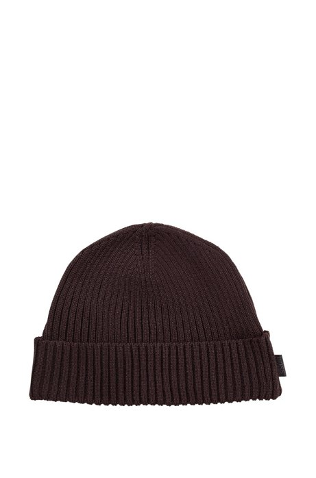 Round hat 'Nattea', Dark Brown