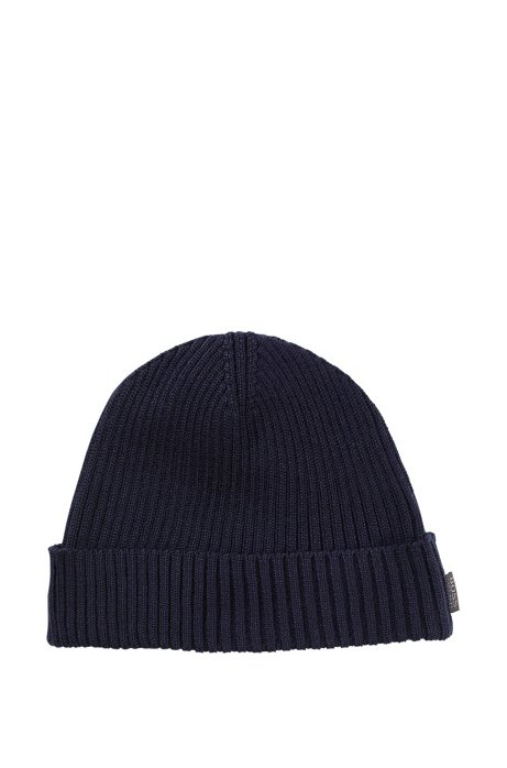 Round hat 'Nattea', Dark Blue