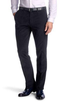 Corduroy broek  ´Shadow5-W` met klepzakken, Donkerblauw