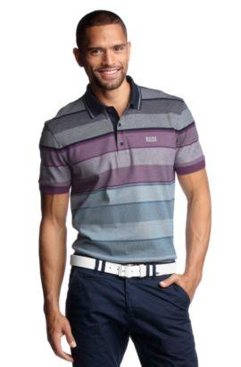 Poloshirt ´Paddy 1` aus reiner Baumwolle, Dunkelblau