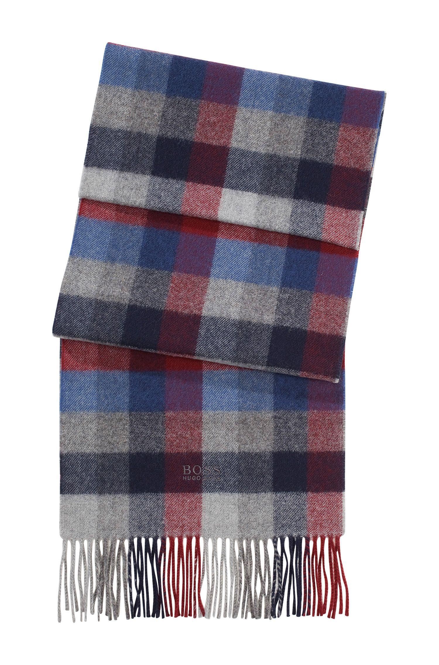 Schal ´Frando` mit Karo-Muster
