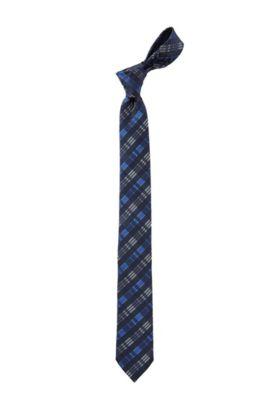 Das ´Tie 6 cm` van gladde zijde, Blauw