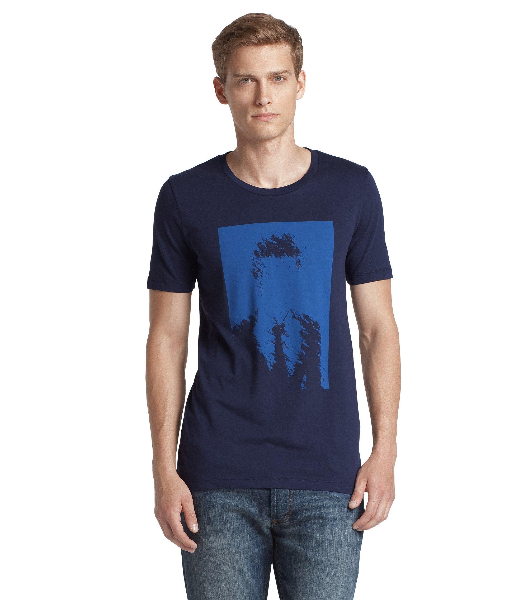 Crew neck T-Shirt ´Dames`, Dark Blue
