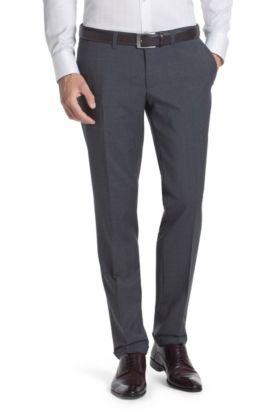 Anzughose ´Winng` aus Schurwolle, Grau