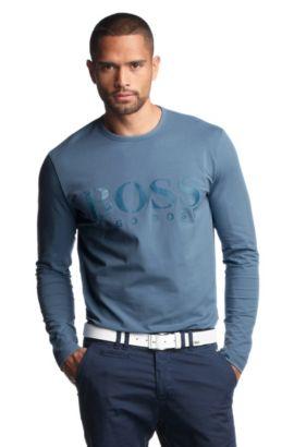 Haut à manches longues, Togn Logo, Turquoise