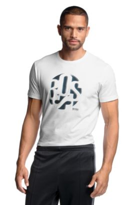 T-shirt en léger coton, Tee 3, Blanc