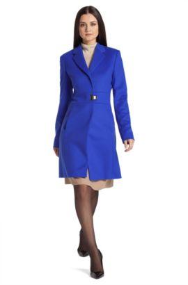 Mantel ´Meranda` aus Kaschmir-Mix, Blau