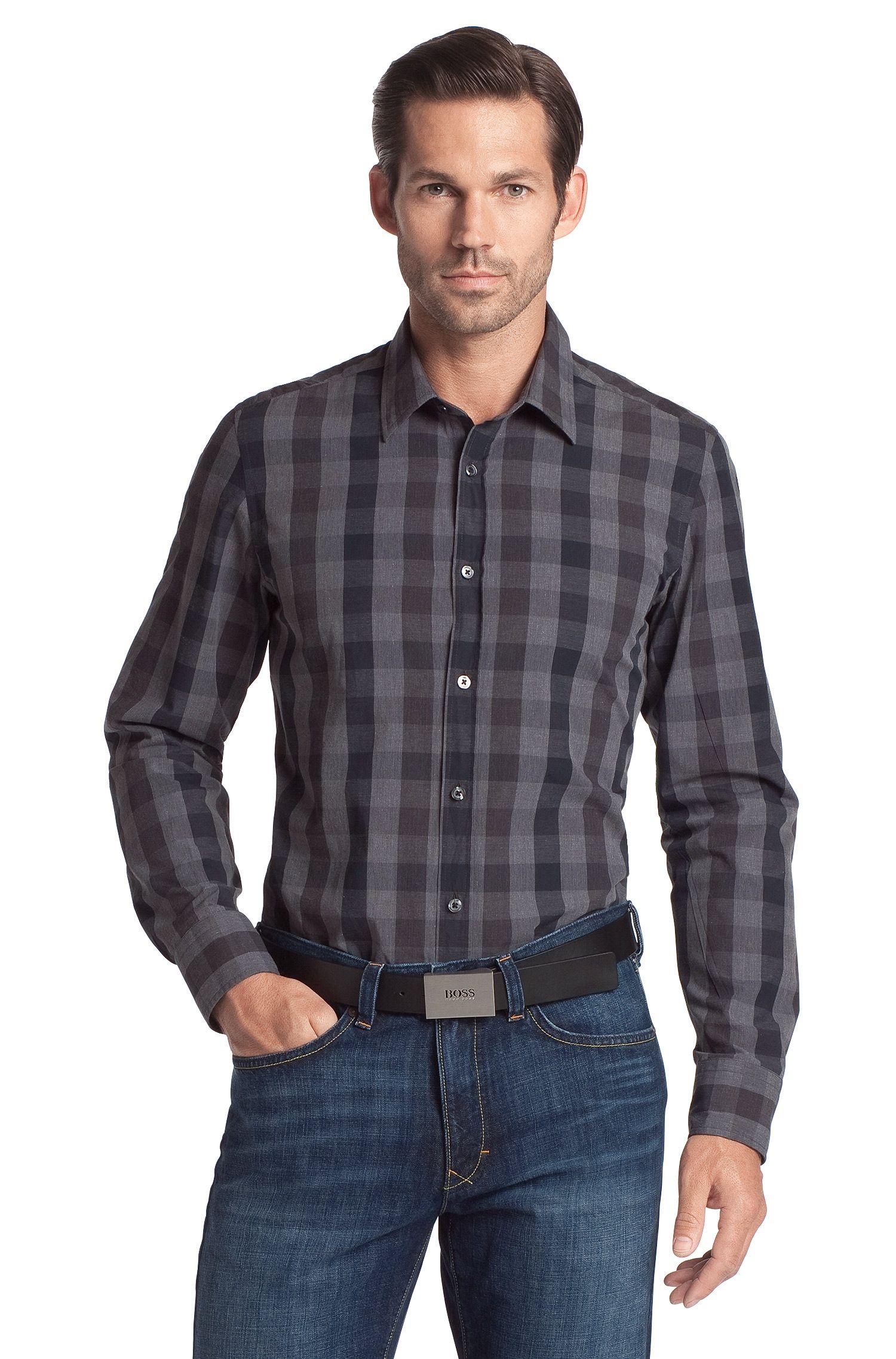 Freizeit-Hemd ´Lucas` mit Kentkragen