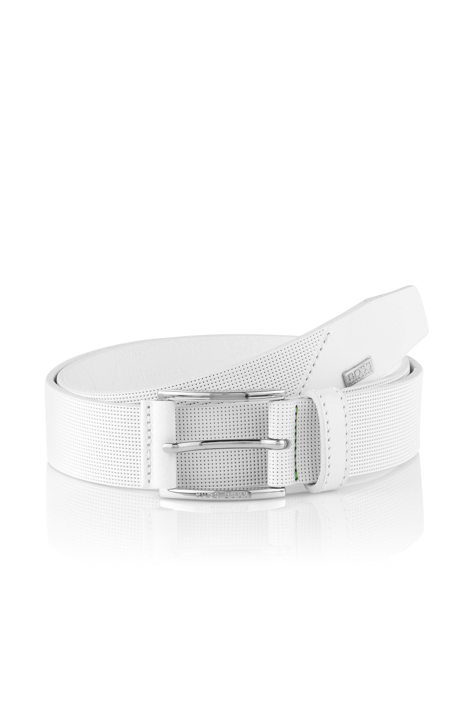 Casual belt with perforations 'Torolf'