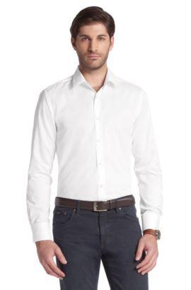 Freizeit-Hemd ´Ronny` mit Kentkragen, Weiß