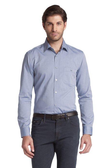 Casual shirt 'Rodrigo Modern Essentials', Open Blue