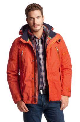 Winterjas 'Juro' met omkeerbaar binnenjack ´Juro, Oranje