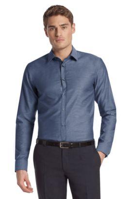 Business-Hemd ´Elisha` mit Kentkragen, Dunkelblau
