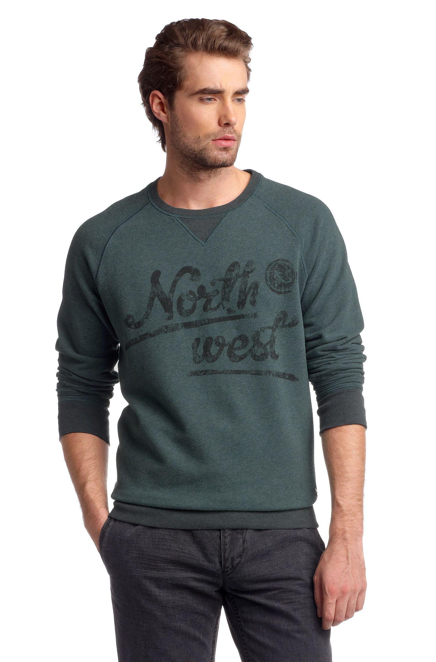Sweatshirt ´Wic` mit Brustprint
