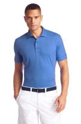 Regular-Fit Piqué-Poloshirt ´Patrick US`, Hellblau
