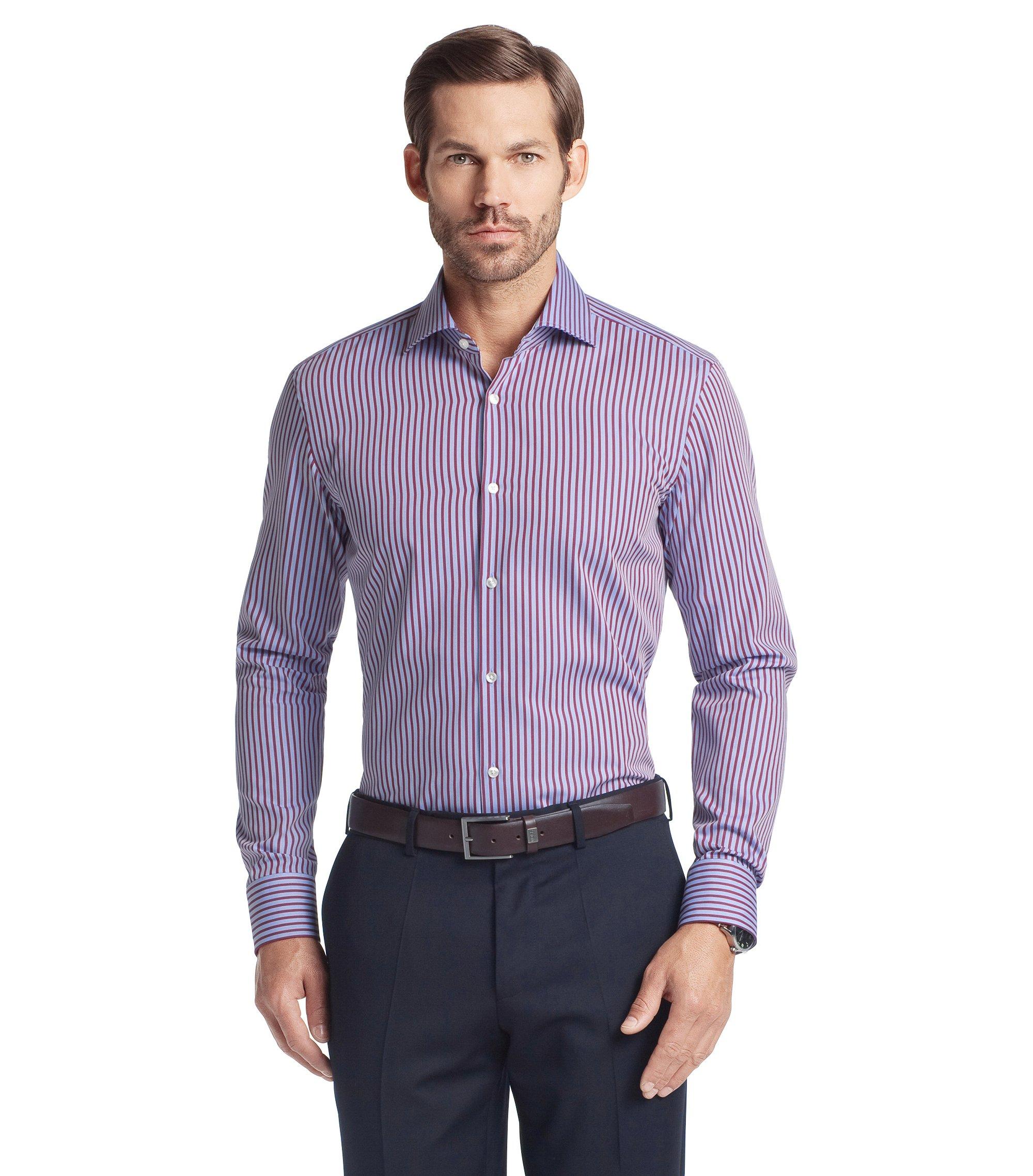 Business-Hemd ´Jaron` mit Kentkragen, Dunkelrosa