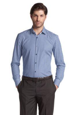 Business-Hemd ´Juri` mit Kentkragen, Dunkelblau