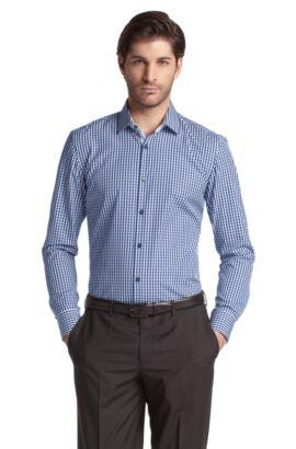 Businessoverhemd ´Juri` met kentkraag, Donkerblauw