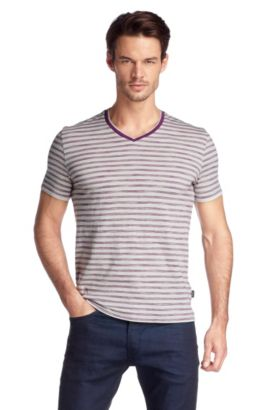 T-shirt en pur coton Pima, Eraldo 49, Rose foncé
