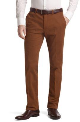 Anzughose ´Shadow6-W` aus Baumwoll-Stretch, Braun