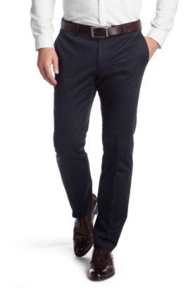 Pantalon à plis marqués, Genesis, Bleu foncé