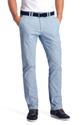 Pantalon détente uni Regular Fit, Delon-W, Bleu vif