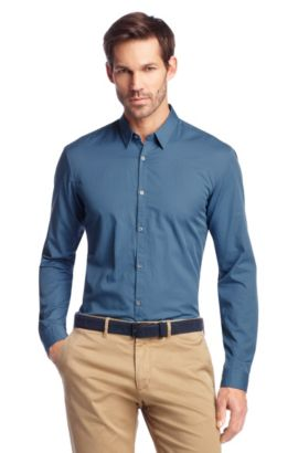 Vrijetijdsoverhemd ´Remus Modern Essentials`, Blauw