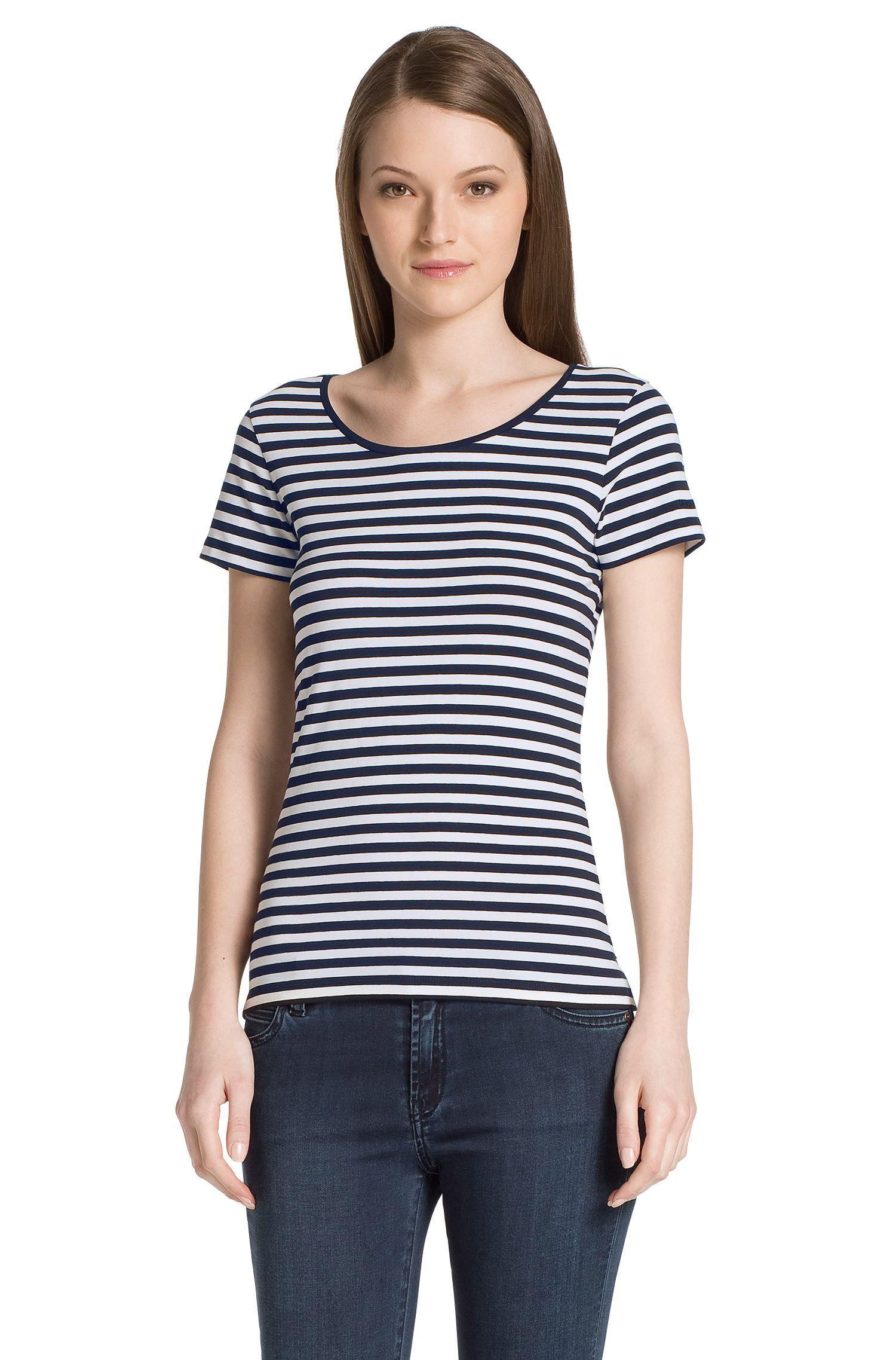T-shirt en coton mélangé, Debia_2