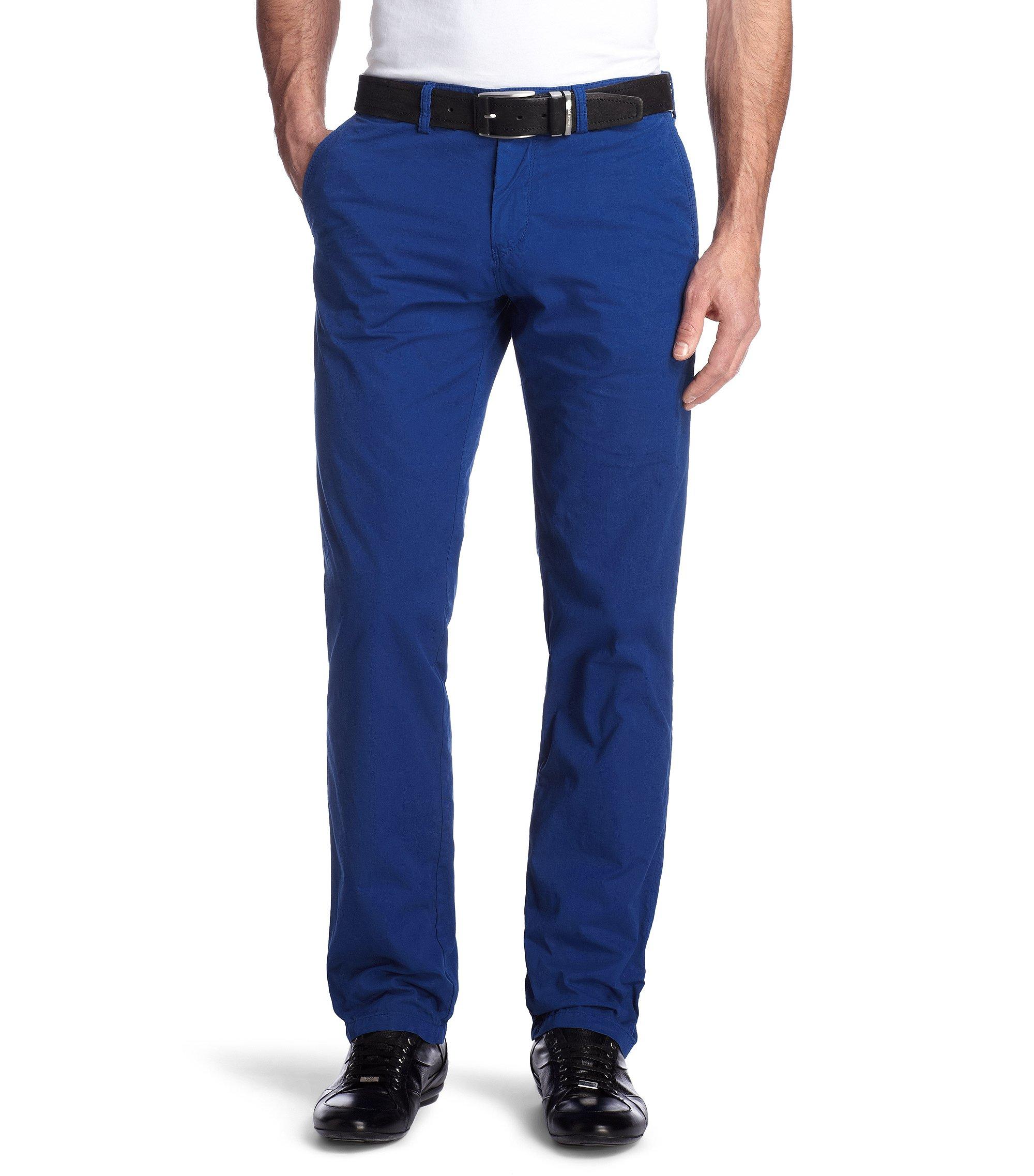 Regular-Fit Chino ´Crigan1-11-D`, Blau