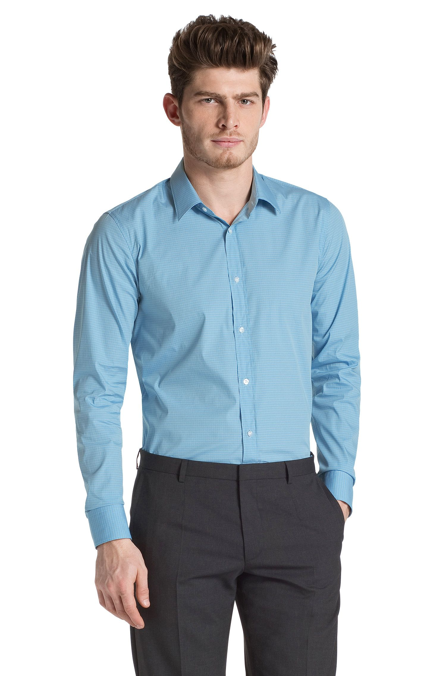 Slim-Fit Business-Hemd ´Elisha` mit Kentkragen