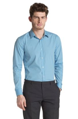 Businessoverhemd met slim fit 'Elisha', Groen