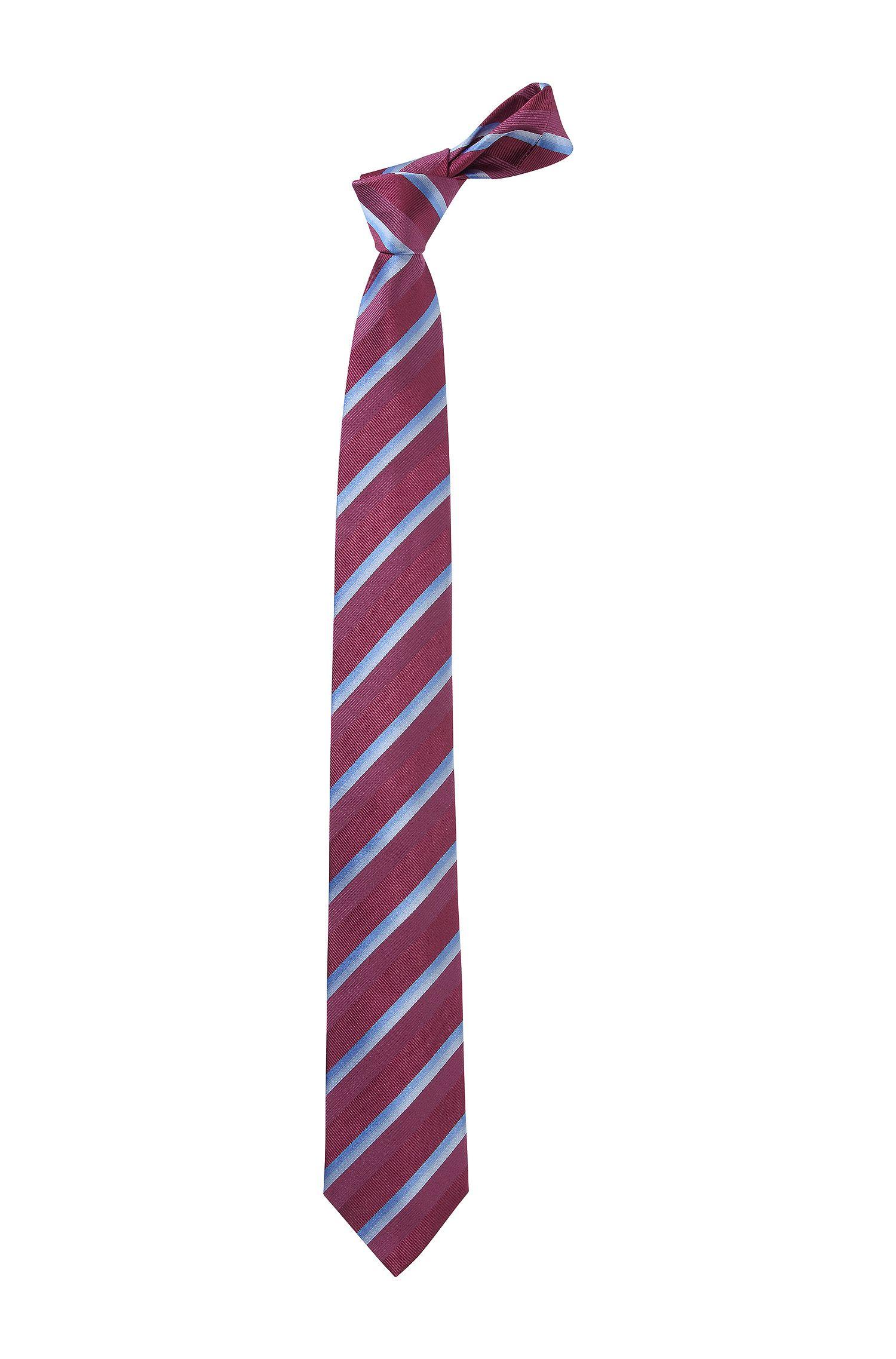 Stropdas ´Tie 7,5 cm traveller`van zuivere zijde