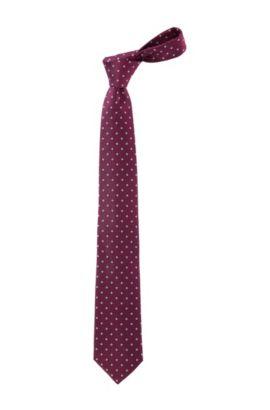 Krawatte ´Tie 7,5 cm traveller` aus reiner Seide, Hellrosa